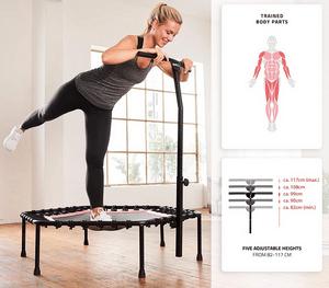 Test et avis sur le trampoline de fitness et gymnastique SP-T-110 de Sportplus